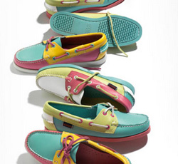 Sebago: Color Block Spinnaker
